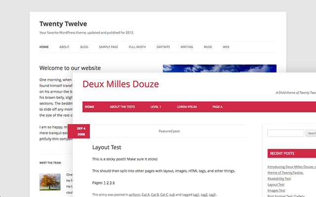 How to create flexible WordPress Parent Themes